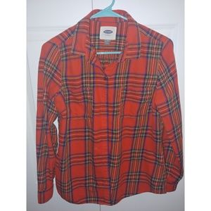 Woman's Old Navy Flannel